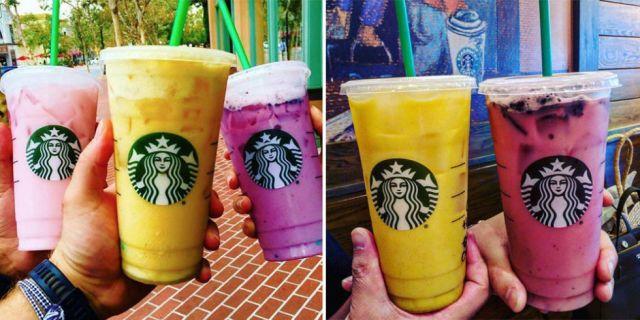 The Surprising Reason Those Rainbow Drinks Are Pissing Off Starbucks Customers