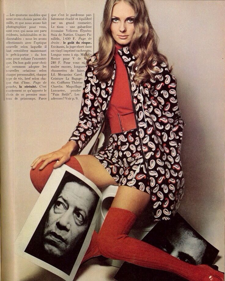 Vogue Paris, February 1968.