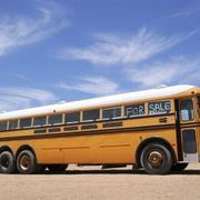 How to Cheaply Make a Bus Into a Camper | eHow