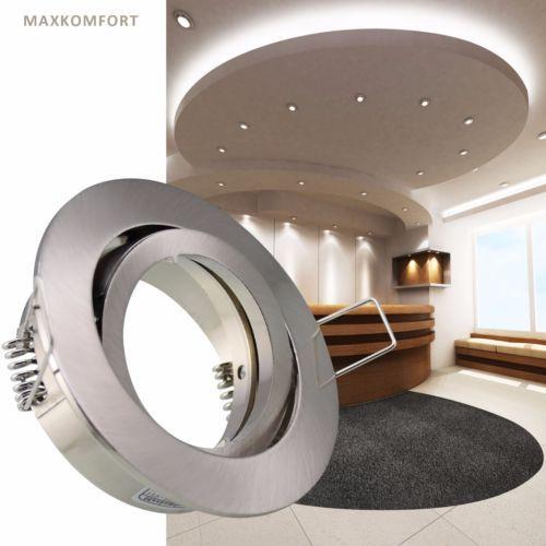 LED-Einbaustrahler-Einbauspot-Rund-Spot-4W-Deckenlampe-Einbauleuchte-GU10-401