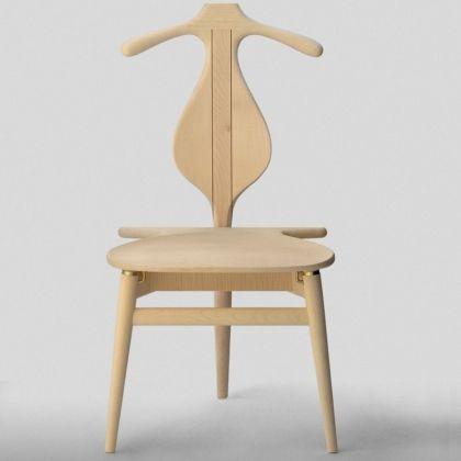 chaise en bois brut la boutique danoise - Valet Chaise Bois