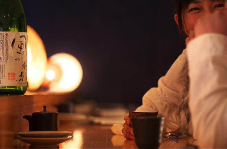 日本酒カウンター1