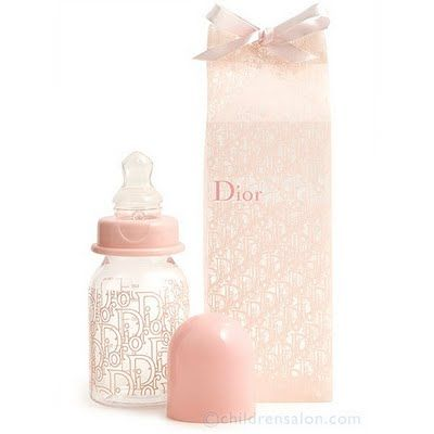 Dior Baby Bottle for little girl... love