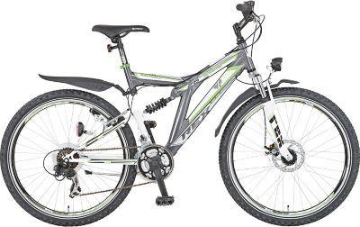 """REX Alu-ATB Fully 26"""" BERGSTEIGER 1.2 - All Terrain Bikes, kurz ATB genannt, sind in ihrer sportlichen Optik und Funktion angelehnt an Mountainbikes. https://www.plus.de/p-1562766000?RefID=SOC_pn"""