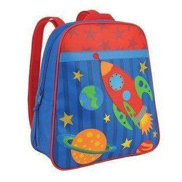 Deze Stephen Joseph Space Rugzak vind je op www.liefzebraatje.nl