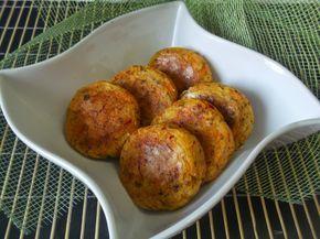 Hellena  ...din bucataria mea...: Chiftele din cartofi la cuptor (de post)