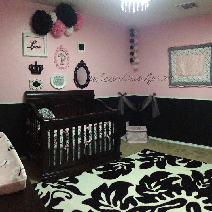 Paisley Layne's Nursery! Damask Rug