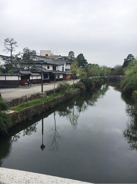 倉敷のあさんぽ風景