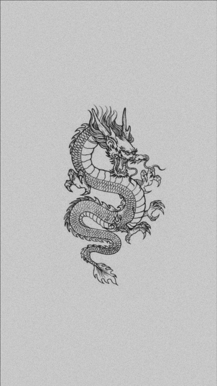 White Dragon Wallpaper Astethic Dragon Wallpaper Iphone Black Dragon Tattoo Iphone Wallpaper Vintage