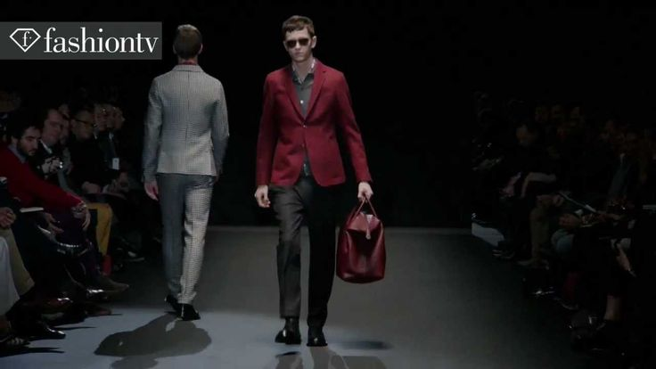 Gucci Men Fall/Winter 2013-14   Milan Men's Fashion Week   FashionTV