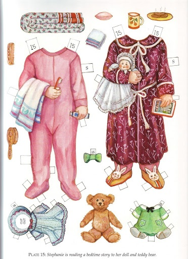Twin Tots of the Twenties Paper Dolls by Evelyn Gathings  - Dover Publishing Inc., 2000: Plate 15 (of 16)