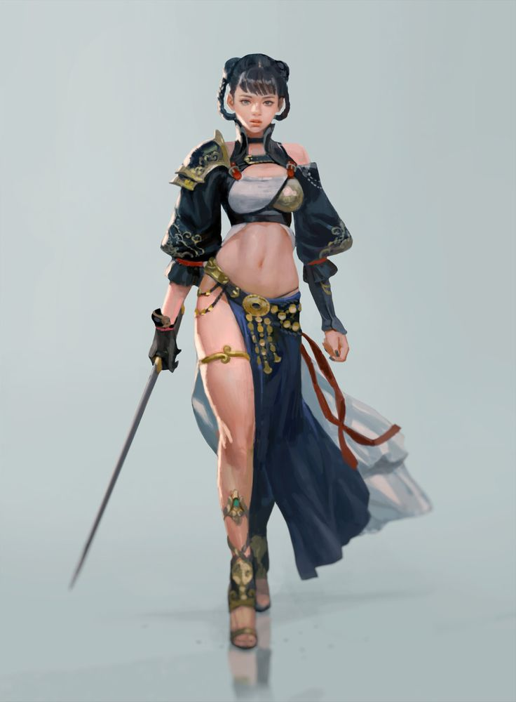 Character Design Tools : Artstation personal work rough chang youl park parks