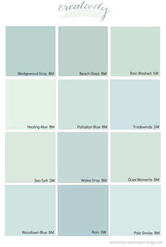 Benjamin Moore Wedgewood Gray Color Spotlightwarm Blue Paint Colors
