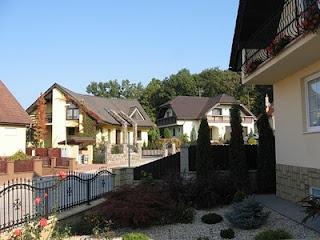 Beautiful modern Slovak architecture