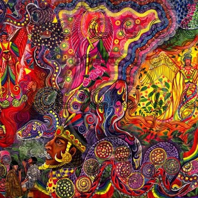 Ayahuasca - visionary art: Ayahuasca Art, Art, Art Ayahuascavisionpsyche, Fine Art Studios, Hippy Trippy Art, Artist, Visionary Art, Art Visionary
