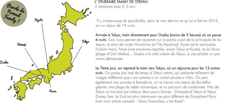 famille enfant itineraire japon