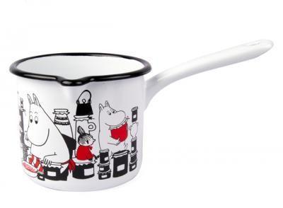 Muurla enamel milk pan with Moomin character