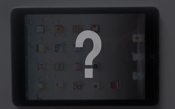 iPadMini foto uscita