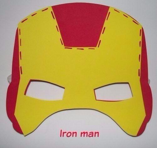 Resultado De Imagen De Iron Man Antifaz Mascaras Superheroes