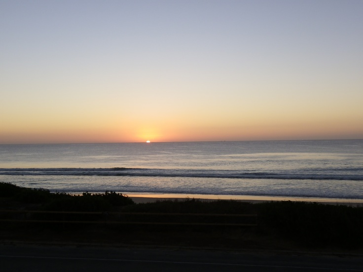 Watch the sunrise over St Francis Bay
