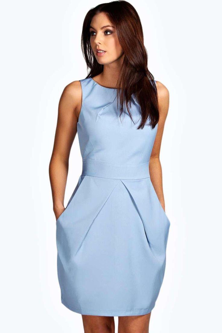 Persie Pleat Detail Dress