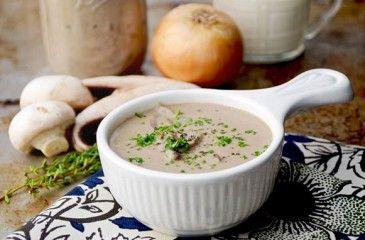 Грибной соус из шампиньонов - рецепт с фото. Как приготовить сливочный или сметанный соус с шампиньонами