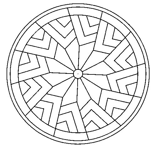 blank mandala coloring pages blank mandala coloring pages - Blank Coloring Pages