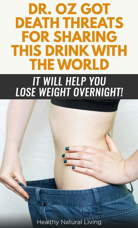 DR. OZ GOT DEATH THREATS FOR SHARING THIS DRINK WITH THE WORLD – IT WILL HELP YOU LOSE WEIGHT OVERNIGHT