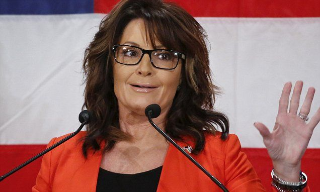 Donald Trump reportedly looking at Sarah Palin as running mate in 2016 presidential race | Daily Mail Online