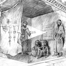 In 965 A.D., Al-Haytham discovered how our eyes see. He created a camera obscura, a box with a hole used for drawing an image precisely. He was among one of the first people to understand the concept of vision, an  idea that would not be rediscovered for many centuries. khefele