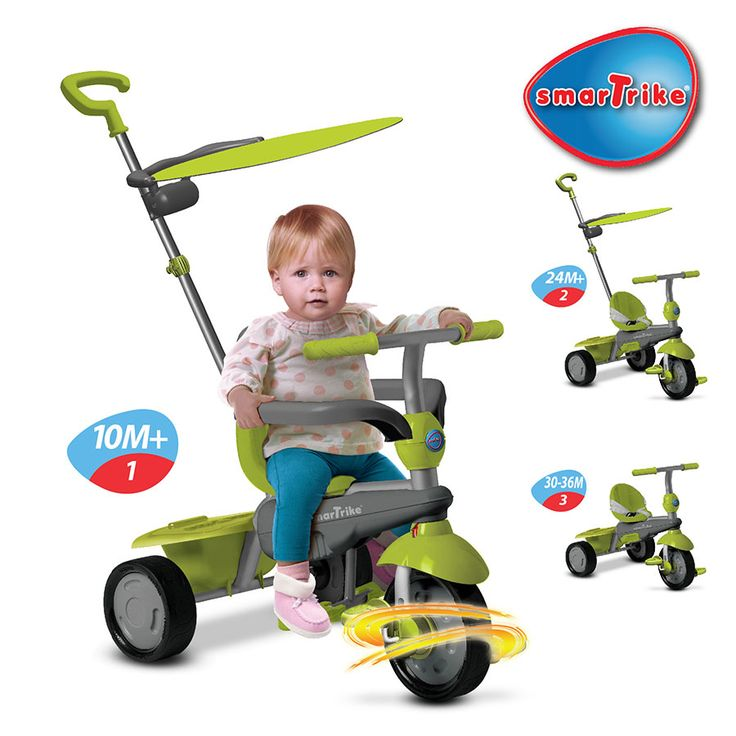 Smartrike 3 In 1 Touch Steering Carnival Green Toys R