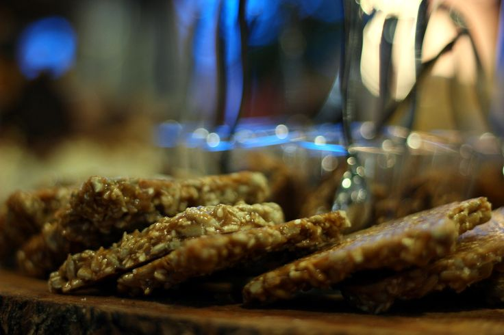 Got a sweet tooth? #2 Fresh Pasteli (sesame seed candy) made from #Cretan mountainous #honey  TEDxHeraklion // Crossroads