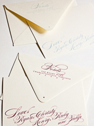 17 Best Images About Wedding Calligraphy On Pinterest