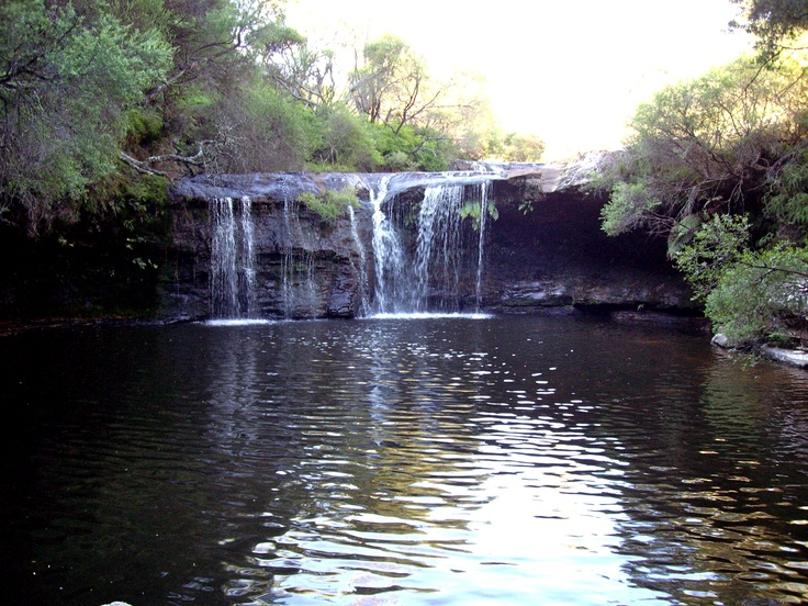 Beautiful Waterfall at Nellie's Glen