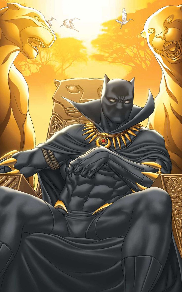 "Black Panther - Art by Ron Garney, Cover by Mike Choi ""INERT"""