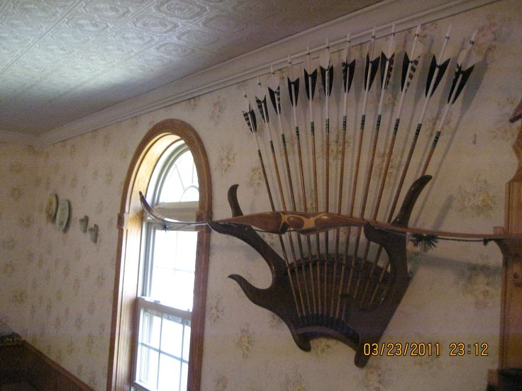 Antler Bow Rack And Bow Stand My Mand Needs This For The