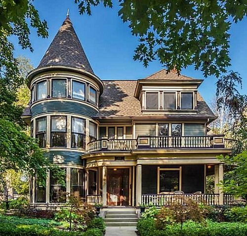 273 best Victorian Houses Grand Mansions images on Pinterest