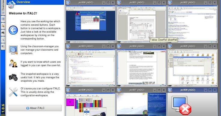 - Το iTALC είναι ισχυρό διδακτικό εργαλείο για τους εκπαιδευτικούς. Σας επιτρέπει να προβάλλετε και να ελέγχετε άλλους υπολογιστές στο δίκτυό σας με διάφορους τρόπους. Υποστηρίζει Linux και Windows και ακόμη μπορεί να χρησιμοποιηθεί με διαφάνεια σε μικτά περιβάλλοντα! Σε αντίθεση με τα ευρέως χρησιμοποιούμενα εμπορικά ισοδύναμα λογισμικά το iTALC είναι δωρεάν! Αυτό σημαίνει ότι δεν χρειάζεται να πληρώσετε για άδειες χρήσης.  - Επιπλέον ο πηγαίος κώδικας είναι ελεύθερα διαθέσιμος και μπορείτε…