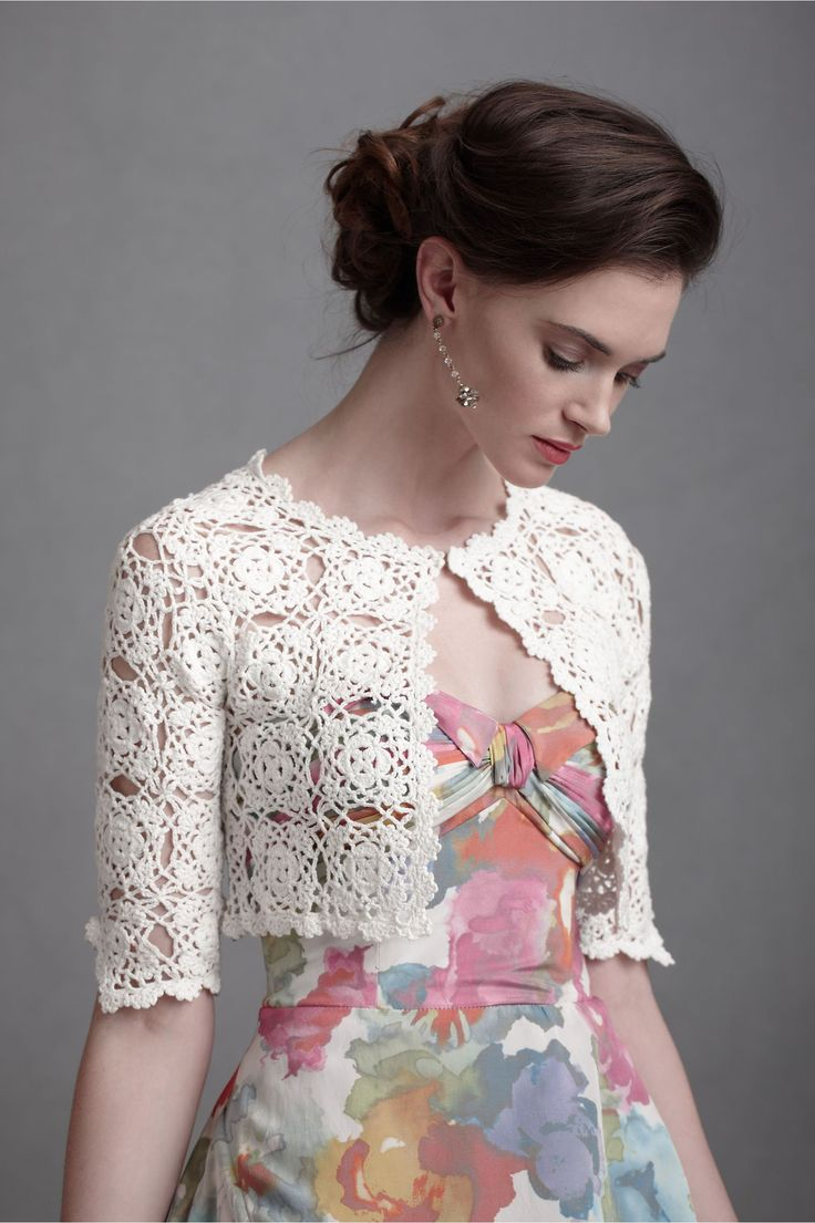 Interlocked Medallions Bolero ~ ~ ~    from the Shop Sale at BHLDN