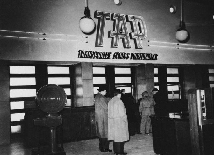 TAP - Transportes Aéreos Portugueses | 1945 | Lisbon Airport