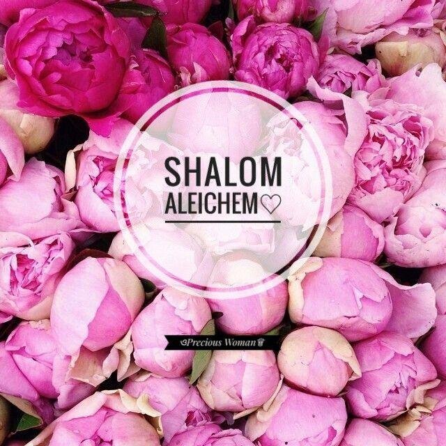 Shalom Aleichem❁ Tehillim (Psalms) 23:1-6♡