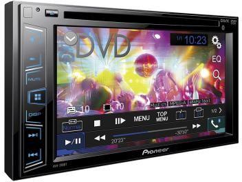 "DVD Automotivo Pioneer AVH-288BT - Tela 6,2"" Bluetooth USB Entrada Auxiliar"