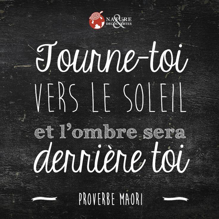 Proverbe Maori soleil