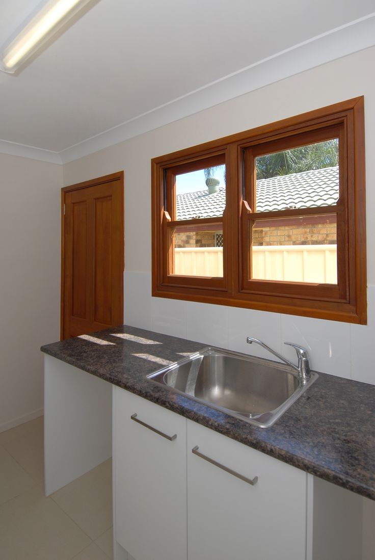 Timber Double Hung Windows #windows #decor #homedecor #kitchen