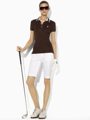 Huntley Cotton Polo - Ralph Lauren Golf Polos - Ralph Lauren France