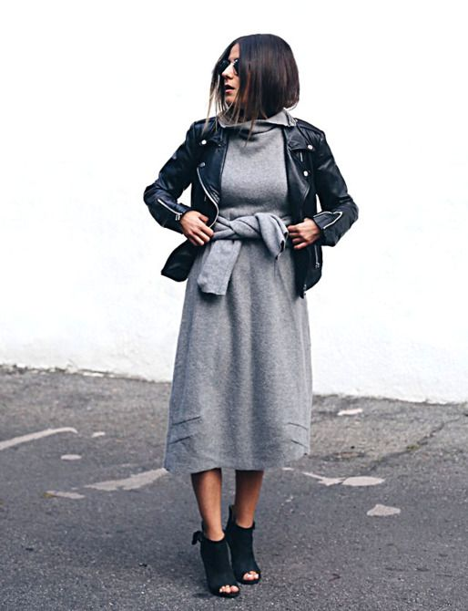 11 Ways to Wear a Cozy Sweater Dress -- The Cut