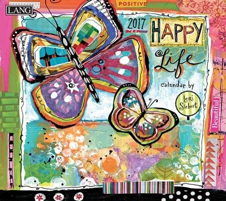 Happy Life 2017 Wall Calendar , 17991001982 | Lang