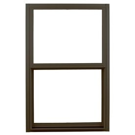 Ply Gem 1500 Series Aluminum Double Pane Single Strength Single Hung Window (Rough Opening: 32-In X 52-In; Actual: 51.25