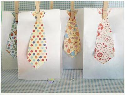 Bolsas de regalo para el día del padre : cositasconmesh