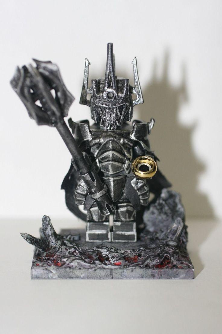 LEGO Lord of the Rings Custom Sauron Minifigure
